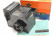 Agfa Rondinax 60 developing tank VGC, complete, boxed for 120 film medium format