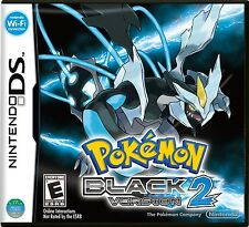 Pokemon Black Version 2 (Nintendo DS, 2012) NTSC Brand NEW !!