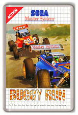 BUGGY RUN SEGA MASTER SYSTEM FRIDGE MAGNET IMAN NEVERA