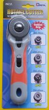 45mm DAFA Fabric Soft Grip Rotary Cutter Left / Right Handed OLFA Alternative
