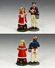 KING AND COUNTRY Dickens, Carol Singers Set 2 WoD035 WoD35 Painted Metal Model