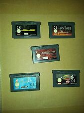 game boy advance : Harry Potter sum of all fears Crouching tony hawk 2 atlantis
