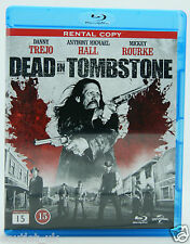 Dead in Tombstone Blu-ray Film Region B BRAND NEW Danny Trejo