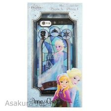 Disney iPhone 5 5S FROZEN Elsa Stained Glass Plastic Jacket Hard Cover Case
