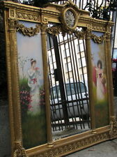 FRANCE -  MIRROR WITH PAINTIGS