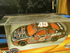 """Kyle Petty - 2001 #45 - """"7th Annual Charity Ride Across America""""-1:24 Hot Wheels"""