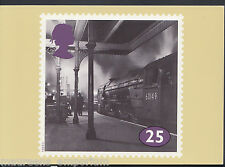 Railway Stamp Postcard - The Age of Steam, Amadis at Kings Cross  RR255
