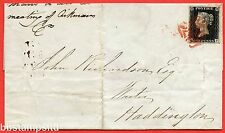 "SG. 2. A1 (2). AS15. "" QJ "". 1d Black. Plate 2. A fine used example on cover."