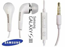 Genuine Headphones Earphones Headset With Mic Samsung Galaxy S3 S4 & iPod iPhone