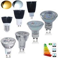 3W 4W 5W 6W 7W 8W GU10 MR16 E27 COB LED Strahler SMD Lampe Warmweiß Kaltweiß Neu