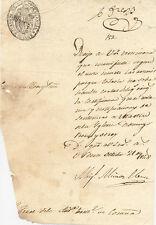 Escrito del año 1848. Juzgado de Primera Instancia de Ourense.