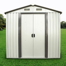 6'x4' Outdoor Utility Tool Storage Shed Backyard Garden Garage Kit Building