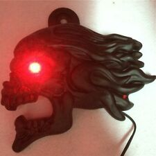 "Black Zombie horn cover w/ LED For 92-16 Harley ""cowbell"" and all V-rod's"