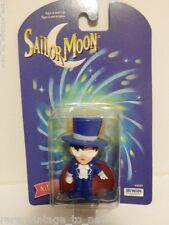"Vintage NEW Tuxedo Mask 2"" 1997 Adventure Figure Action Doll Sailor Moon Darien"
