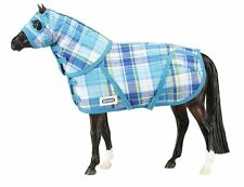 Breyer Traditional Quilted Stable Blanket with Hood Pony Horse 1:9 Scale 2060