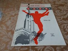 10 13 1956 COLLEGE FOOTBALL STANFORD INDIANS VS SAN JOSE STATE