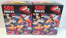MEGA DEAL 2 x 500 PCS  Bricks Build-It Mini Bricks ** PURCHASE YOUR'S TODAY **