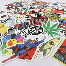New 50pcs Skateboard Graffiti Sticker Skate Laptop Luggage Car Bomb Vinyl Decal