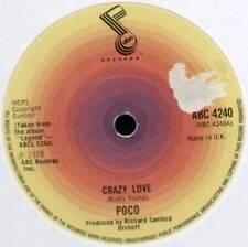 """POCO ~ CRAZY LOVE / BARBADOS ~ 1978 UK 7"""" SINGLE ~ ABC 4240"""