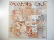 33 TOURS LP ▒ MOUSTAKI & FLAIRCK : CHANSONS