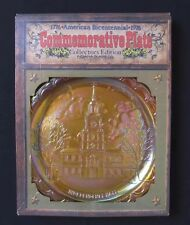 Bicentennial Commemorative Plate by Indiana Glass #1965 - Free Shipping!