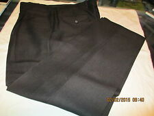 DESIGNER MEN LINEN PANTS BY UMBERTO BILANCIONI, MADE IN  ITALY.EU SIZE 56.
