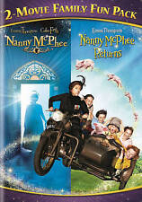 Nanny McPhee 2-Movie Family Fun Pack (DVD, 2014)