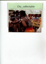MP113 # MALAYSIA MINT PICTURE POST CARD G.W 405 * A HINDU DEVOTEE