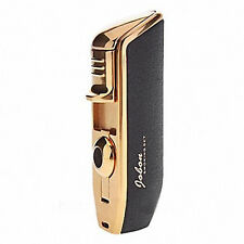 Jobon Triple 3 Jet Flame Cigar Cigarette Refillable Torch Lighter Scrub Black