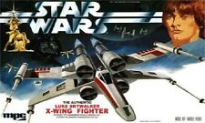 1970s MPC STAR WARS Luke Skywalker X-Wing Fighter model replica magnet - new!