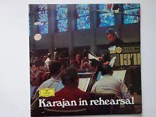 Herbert Von Karajan - In Rehearsal  -  LP