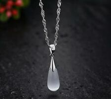 New products Female fashion Drop Necklace 925 silver filled fine Christmas gifts