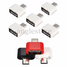5PCS Micro USB Male to USB 2.0 Female Adapter OTG Converter For Android Tablet