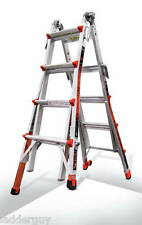 17 1A Revolution Little Giant Ladder with Ratchet Levelers 12017-801