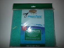 "Aqua Pure Phosphate Filter Pad 10"" x 18"" For Aquarium and Fish Tank Filters"