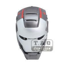 Tactical Airsoft Paintball Wire Mesh Protection Full Face Mask - Iron Man 3