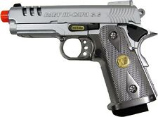 WE Baby Hi-Capa 3.8 V3 Full Metal Semi Automatic CO2 Gas Blowback Airsoft Pistol