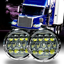 LED Headlamp Headlights Chrome Upgrade Kit for Freightliner CORONADO