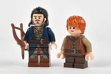 LEGO LORD OF THE RINGS - EXCLUSIVE BARD THE BOWMAN and BAIN FIGURE'S SEALED