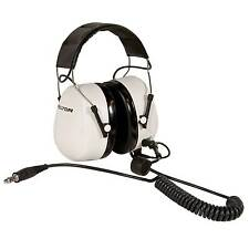 Peltor Race/Rally/Motorsport Dect-Com Standard Practice Headset In White