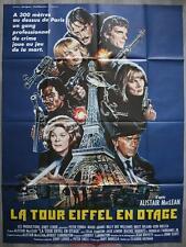 LA TOUR EIFFEL EN OTAGE Affiche Cinéma / Movie Poster PETER FONDA