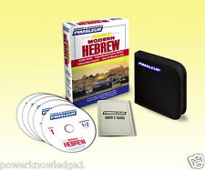 NEW 5 CD Pimsleur Learn to Speak Basic Hebrew Language