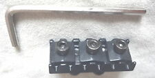 FLOYD ROSE Lic. LOCKING NUT MIGHTY MITE BLACK 42MM Bottom Mnt 4 Electric Guitar