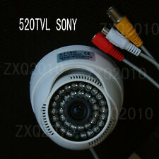 Promotion 520TVL SONY CCD Audio Home Cctv Security Camera Video DVR  Indoor w93