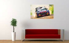 DS3 CITROEN RALLYE WRC NEW GIANT LARGE ART PRINT POSTER PICTURE WALL