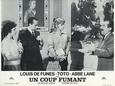 LOUIS DE FUNES TOTO, EVA E IL PENNELLO PROIBITO 1959 VINTAGE LOBBY CARD #5  R70