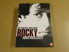 6-DISC DVD BOX / ROCKY ANTHOLOGY - ROCKY I, II, III, IV, V ( SYLVESTER STALLONE)