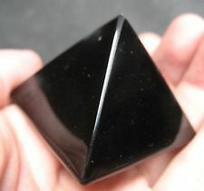 black tourmaline pyramid for healing and reiki / Black Tourmaline Pyramid