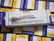 Vacuum Tubes   CV8055  (UK)   New old stock   45  pc   long lead   BLACK PLATE