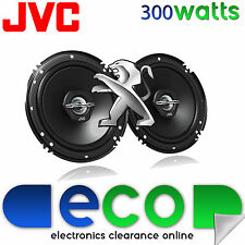 Peugeot Partner Van 97-07 JVC 16cm 6.5 Inch 300 Watts 2 Way Front Door Speakers